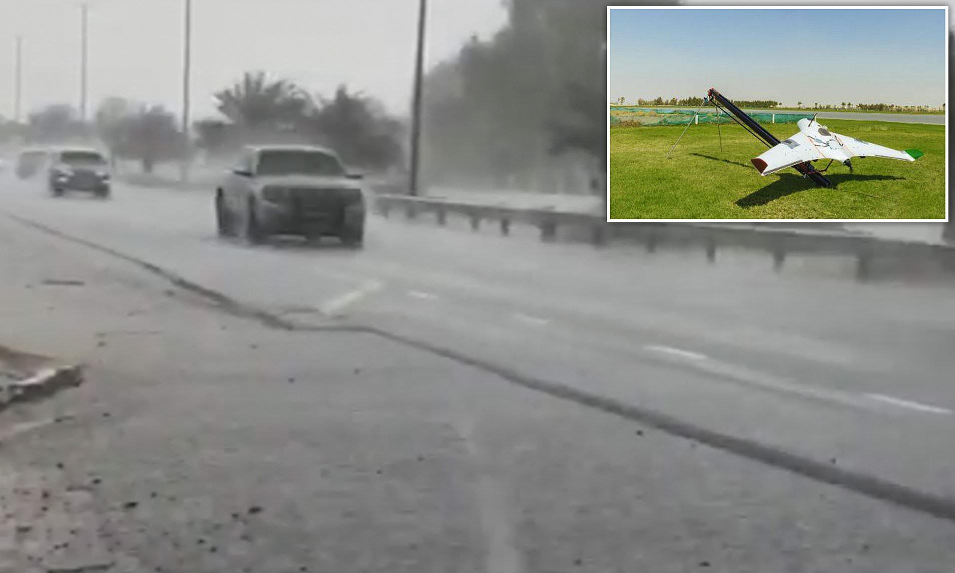 Artificial Rain in Dubai Using Drone Technology to Fight 50°C Heat